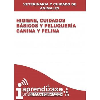 Higiene, cuidados básicos y peluquería canina y felina