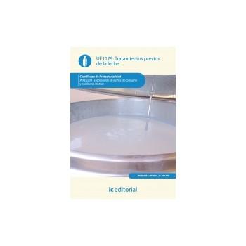 Tratamientos previos de la leche UF1179
