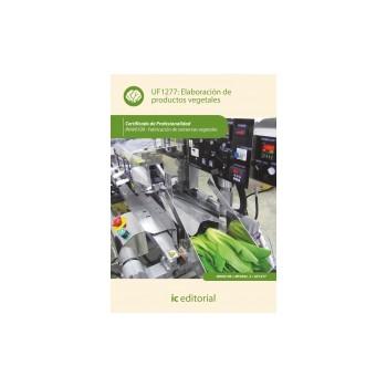 Elaboración de productos vegetales UF1277