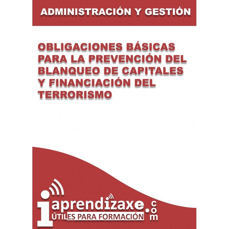 Obligaciones básicas para la prevención del blanqueo de capitales y financiación del terrorismo