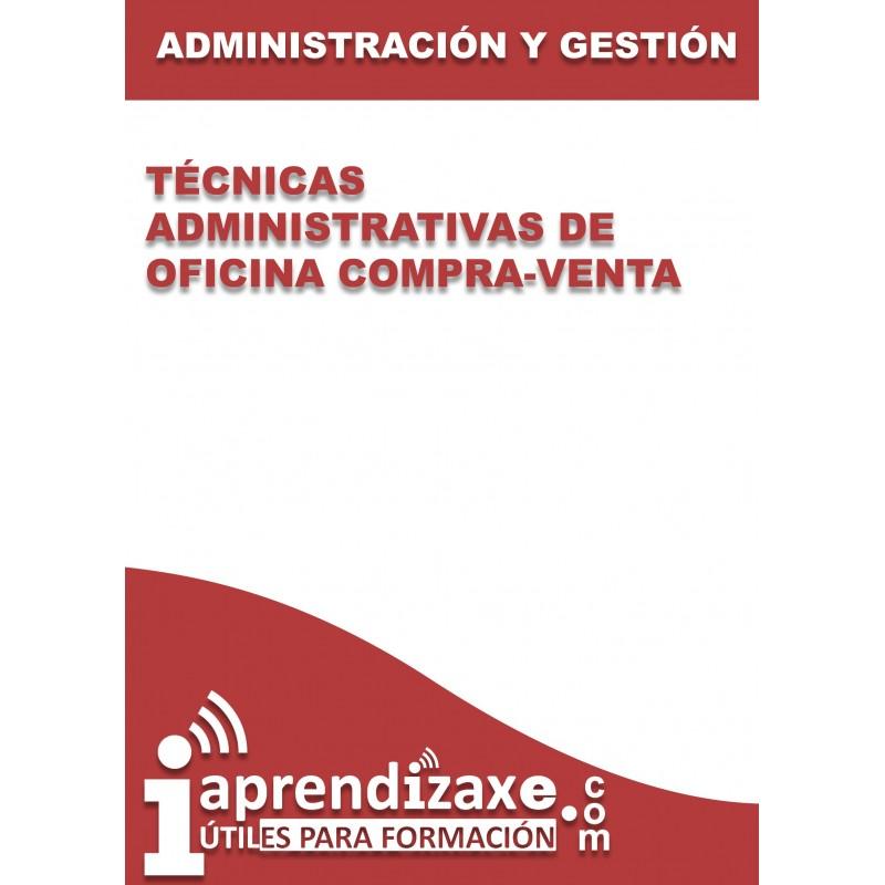 Técnicas Administrativas de Oficina compra-venta