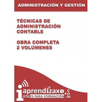 Técnicas de administración Contable - Obra completa - 2 volúmenes