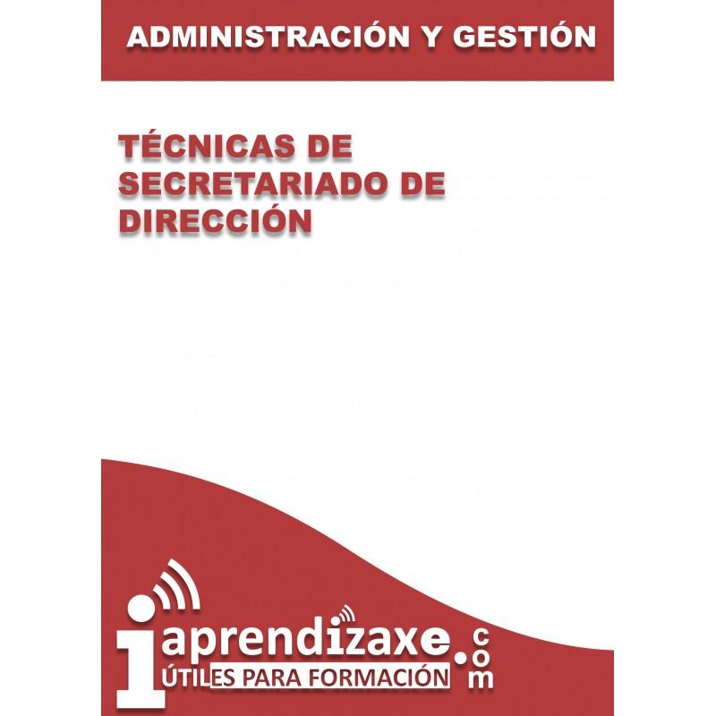 Técnicas de Secretariado de dirección