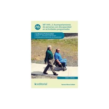 Acompañamiento de personas con discapacidad en actividades programadas MF1449_3