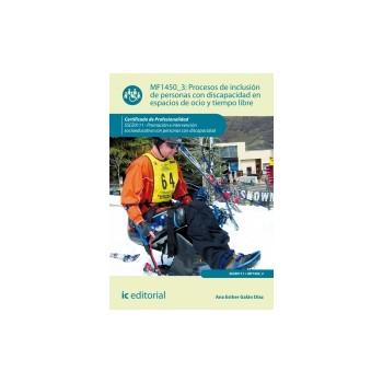Procesos de inclusión de personas con discapacidad en espacios de ocio y tiempo libre MF1450_3
