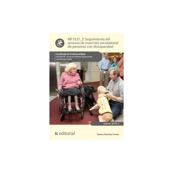 Seguimiento del proceso de inserción sociolaboral de personas con discapacidad MF1037_3
