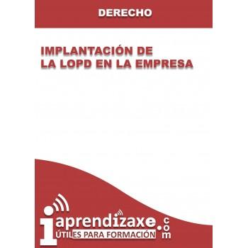 Implantación de la LOPD en la empresa
