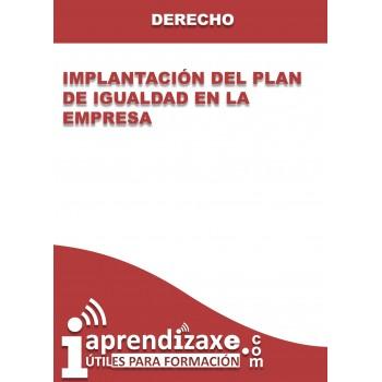 Implantación del Plan de Igualdad en la Empresa