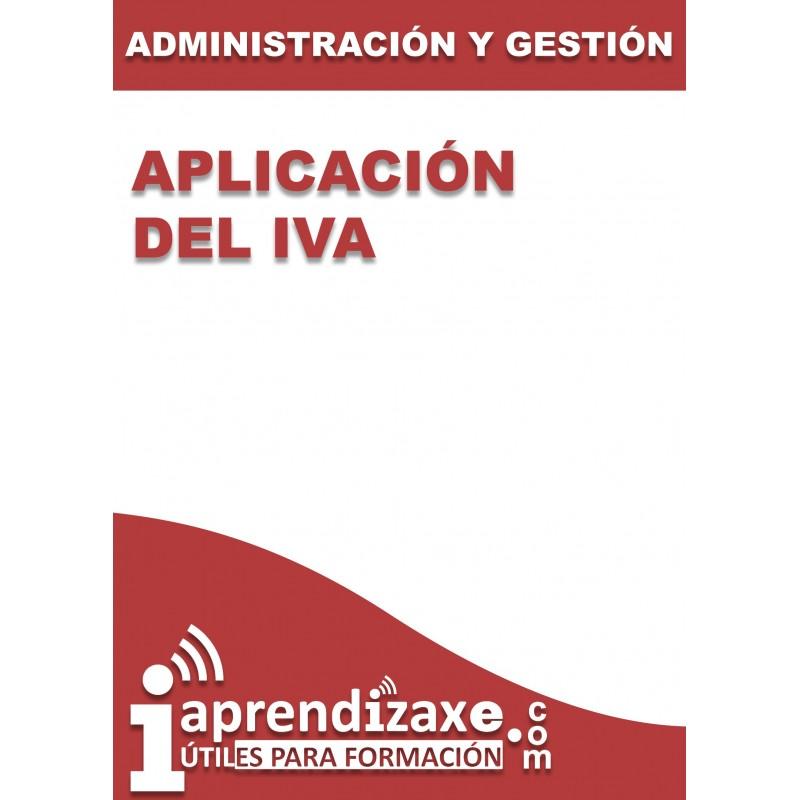 Aplicación del IVA
