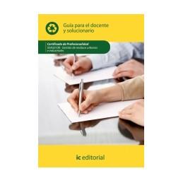 Guía para el docente y solucionarios. SEAG0108