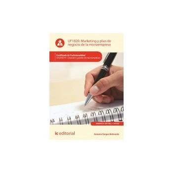 Marketing y plan de negocio de la microempresa UF1820