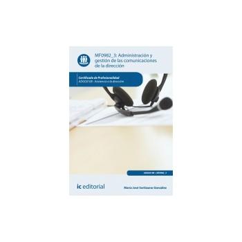 Administración y gestión de las comunicaciones de la dirección MF0982_3