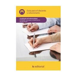 Guía para el docente y solucionarios. TCPF0309