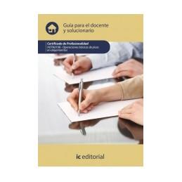 Guía para el docente y solucionarios HOTA0108