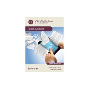 Planificación del producto editorial UF0248