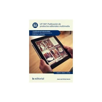 Publicación de productos editoriales multimedia UF1587