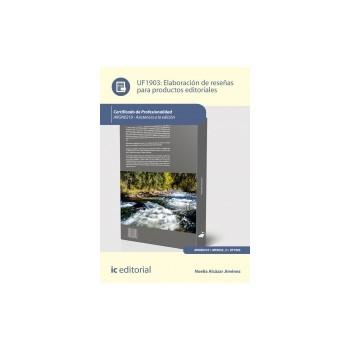 Elaboración de reseñas para productos editoriales UF1903