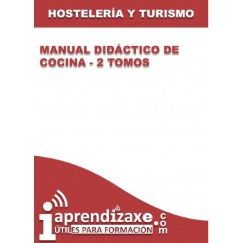 Manual didáctico de cocina - 2 tomos