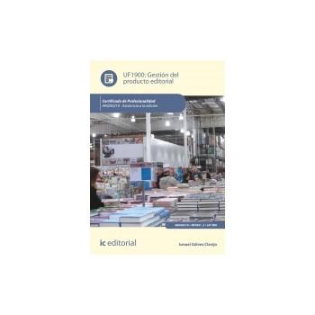 Gestión del producto editorial UF1900