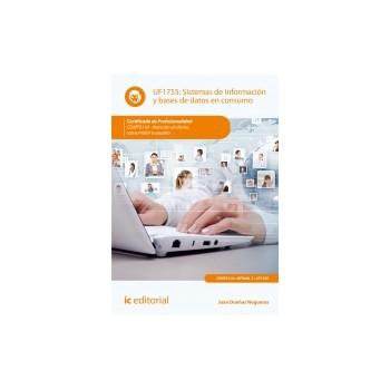 Sistemas de información y bases de datos en consumo UF1755