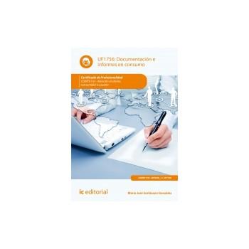 Documentación e informes en consumo UF1756