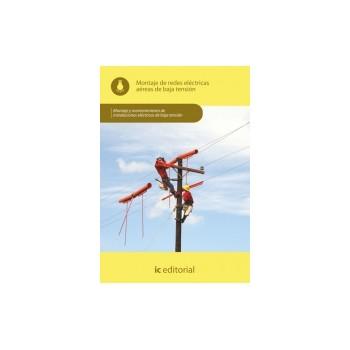 Montaje de redes eléctricas aéreas de baja tensión UF0892
