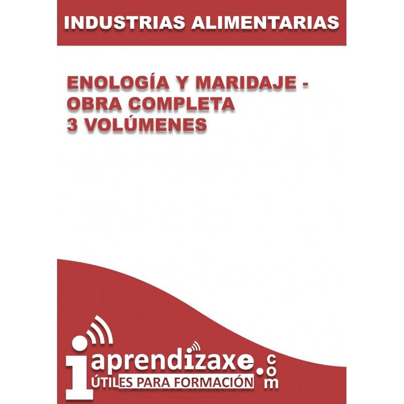Enología y Maridaje - Obra completa - 3 volúmenes