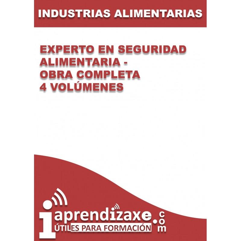 Experto en seguridad alimentaria - Obra completa - 4 volúmenes