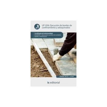 Ejecución de bordes de confinamiento y adoquinados UF1056