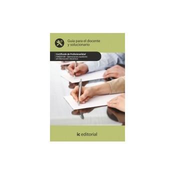 Guía para el docente y solucionarios. FMEE0108