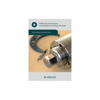 Verificación del producto mecanizado por arranque de viruta UF0883