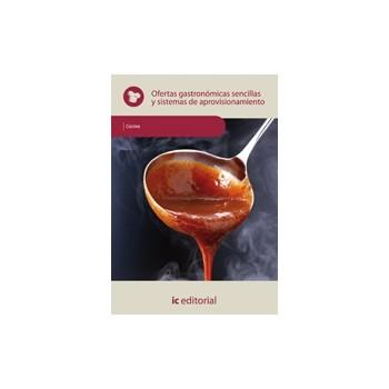 Ofertas gastronómicas sencillas y sistemas de aprovisionamiento - MF0259_2