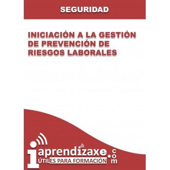 Iniciación a la gestión de prevención de riesgos laborales
