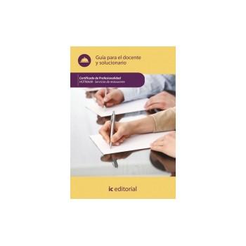 Guía para el docente y solucionarios. HOTR0608