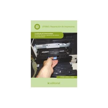 Reparación de impresoras UF0865