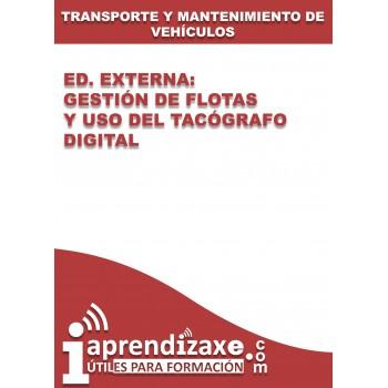Ed. Externa - Gestión de flotas y uso del tacógrafo digital